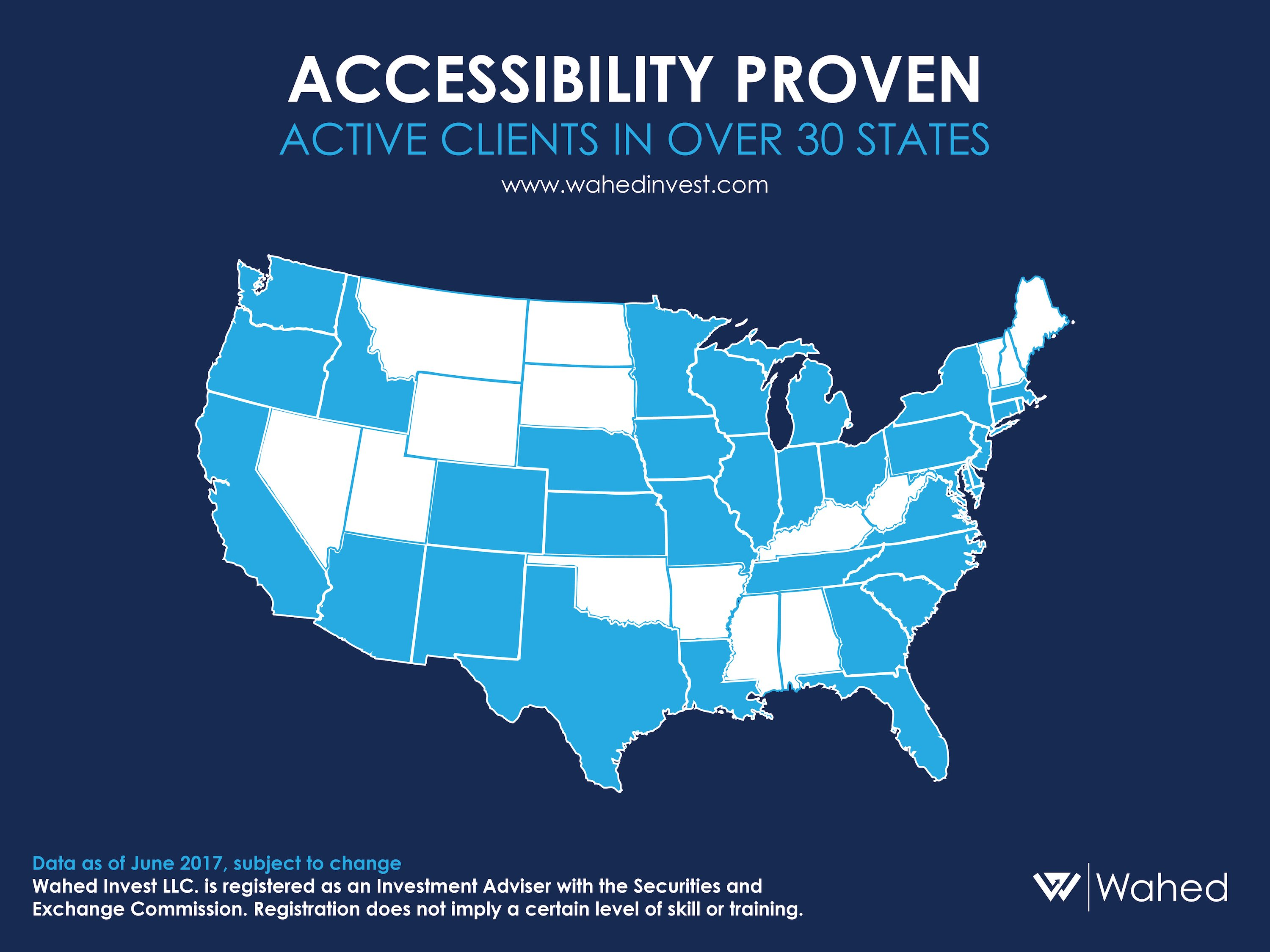 Our Story: Reaching Active Clients in More Than 30 States