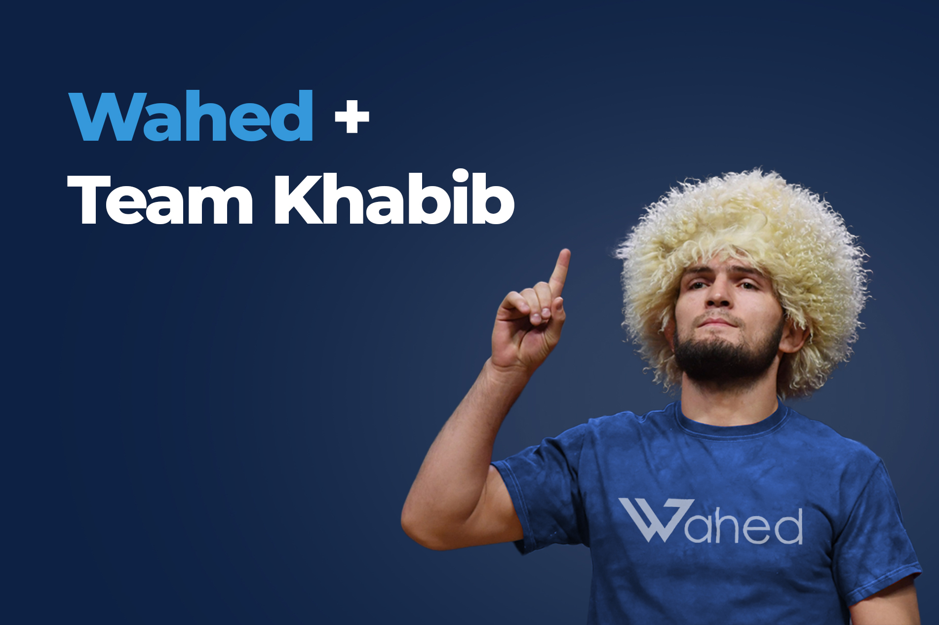 Khabib, brand ambassador